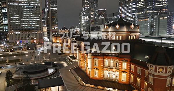 東京駅の夜景 1