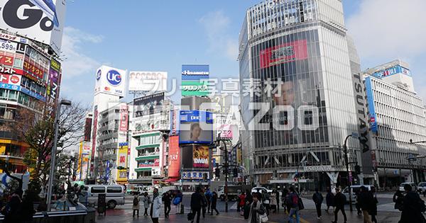 渋谷 スクランブル交差点 2