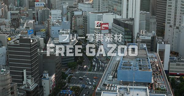大阪駅前国道2号線 夕景
