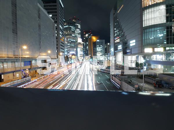夜の大阪駅前 2