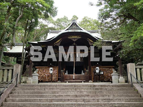京都 岡崎神社 本殿