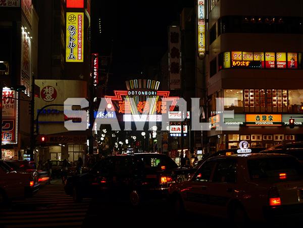 大阪道頓堀の夜 3