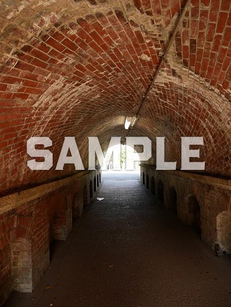 ねじりまんぽ(蹴上トンネル) 内部