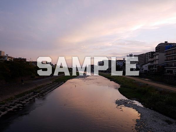 京都鴨川夕景 1