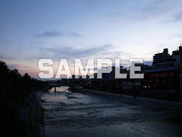 京都鴨川夕景 5