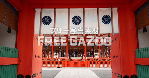 京都 伏見稲荷大社 楼門