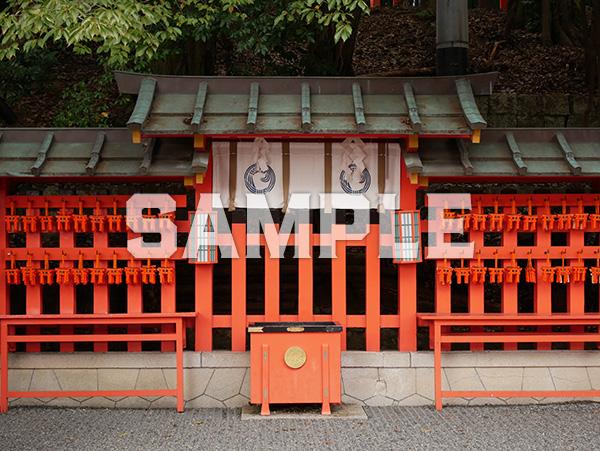 京都 伏見稲荷大社 本殿裏