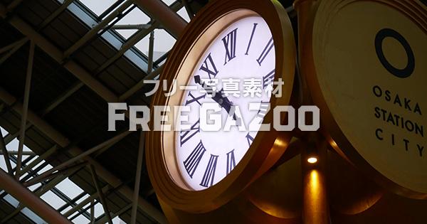 大阪ステーションシティ 時空の広場 金の時計